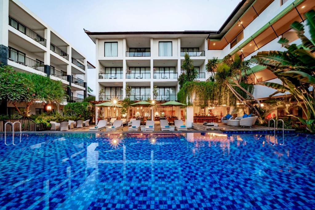 The swimming pool at or near Taksu Sanur Hotel