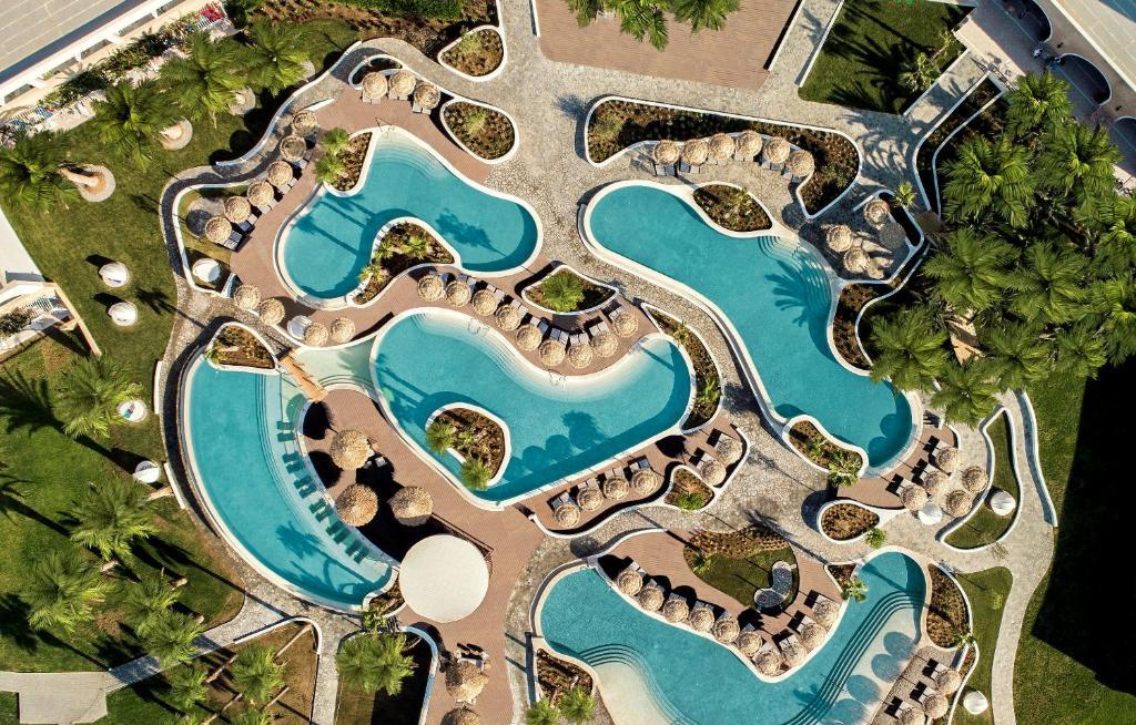 מבט מלמעלה על Mitsis Norida Beach Hotel