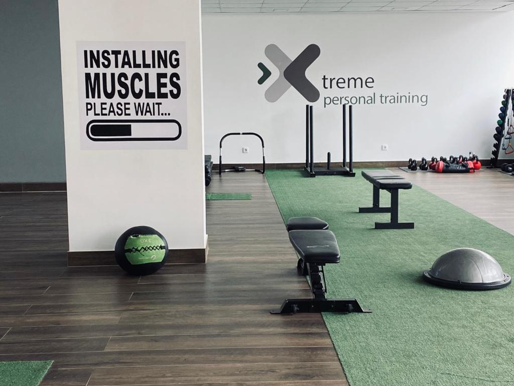The fitness center and/or fitness facilities at Xenon Urban Apartments