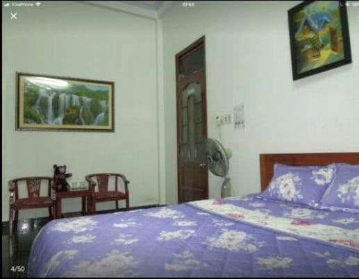 A bed or beds in a room at Free bike & coffee - Homestay with bacony