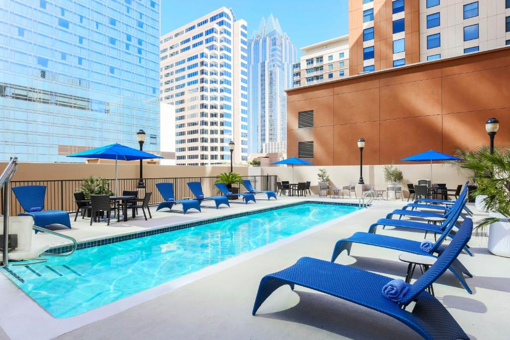 The swimming pool at or near Hampton Inn & Suites Austin-Downtown/Convention Center