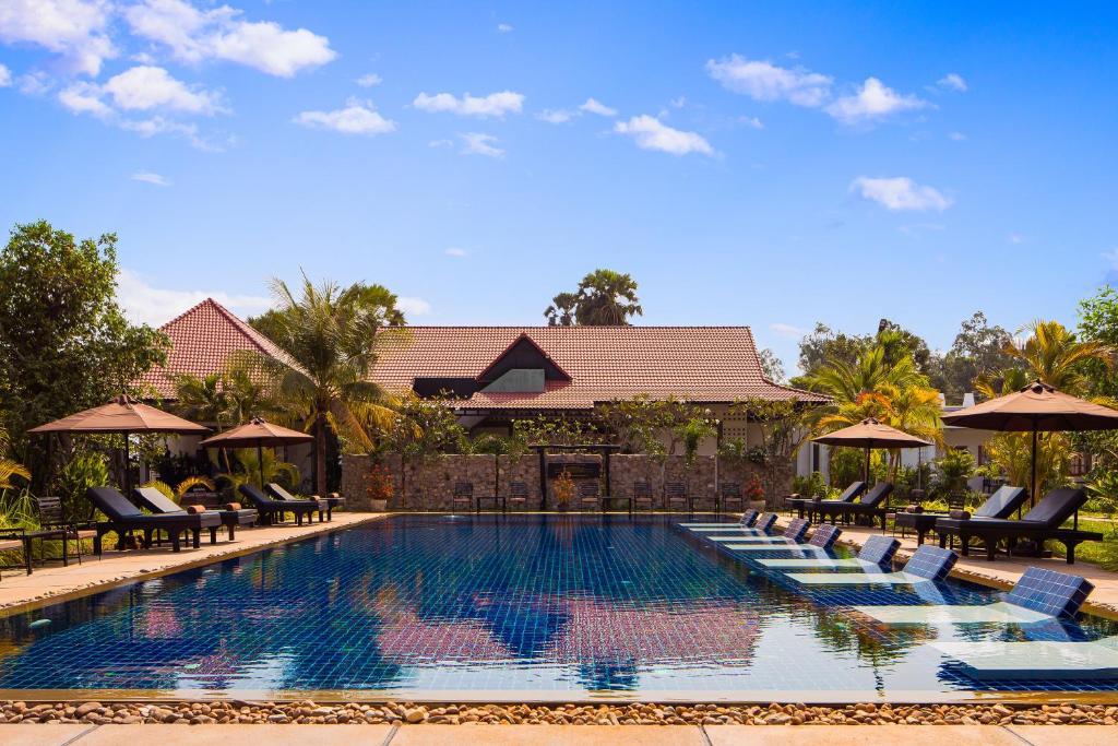 Der Swimmingpool an oder in der Nähe von The Amazing Resort