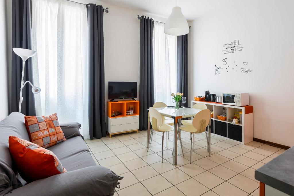 Area soggiorno di Le Case di Giorgio - Ganaceto 46