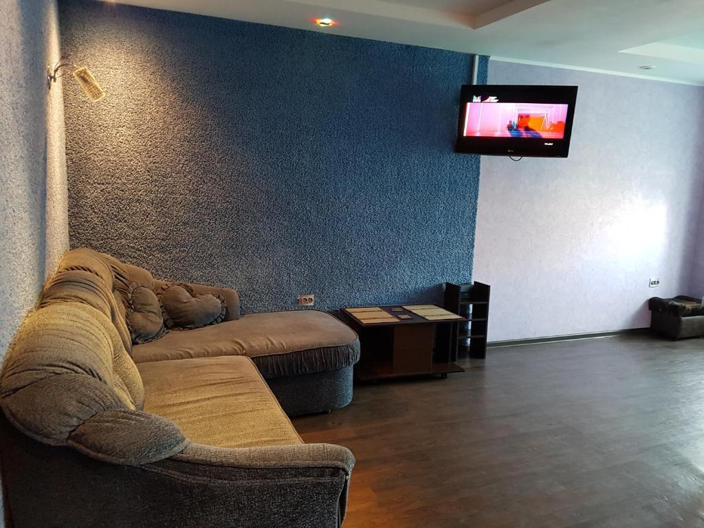 Гостиная зона в Квартира в Кемерово на Шахтеров 75