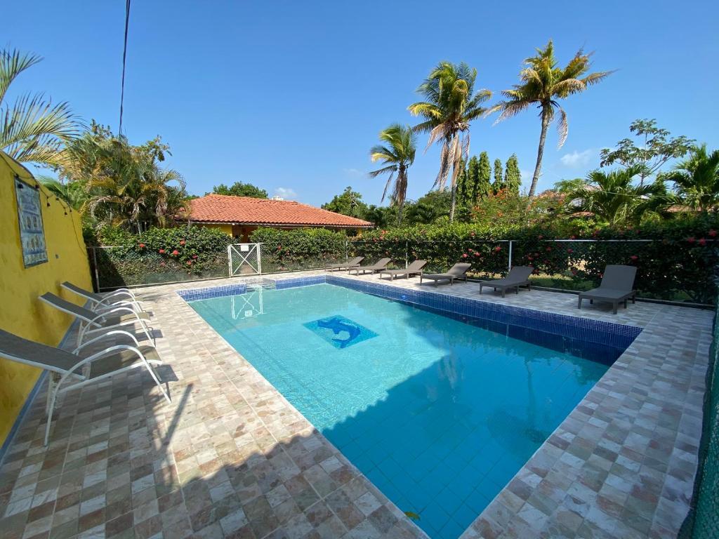 The swimming pool at or near Las Catalinas Coronado