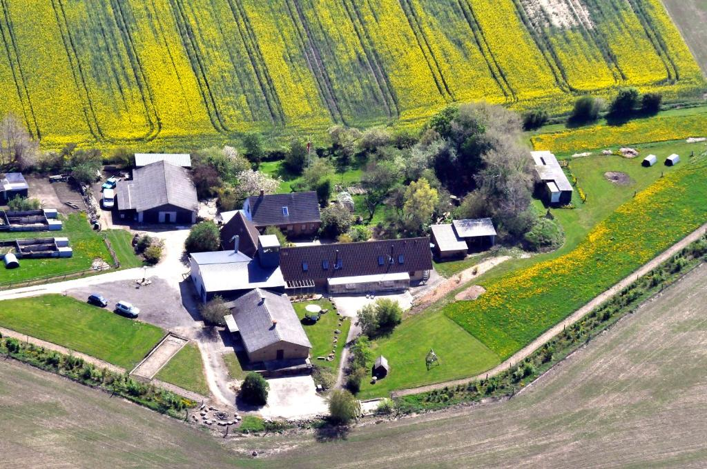 A bird's-eye view of Fuglsang Apartments