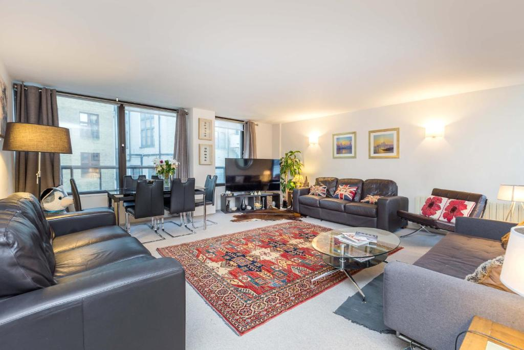 Гостиная зона в Mayfair Piccadilly Apartment