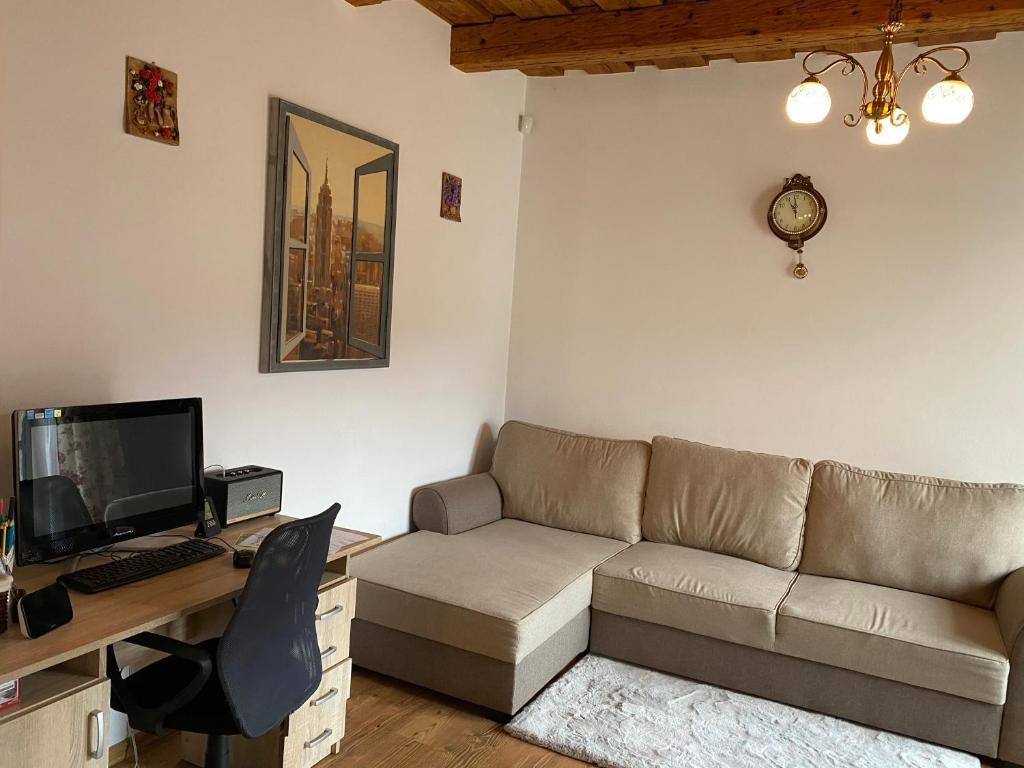 Uma área de estar em Peter House 24-7 Self Check-in