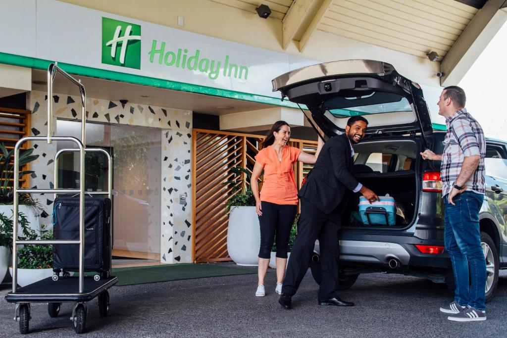 The fitness centre and/or fitness facilities at Holiday Inn Auckland Airport
