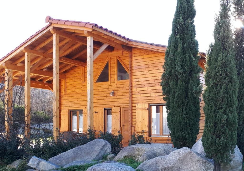 Chalet Mont Canigo during the winter