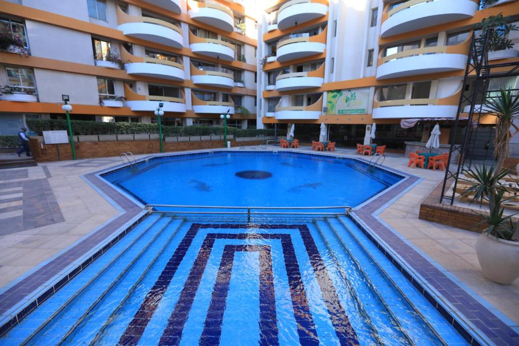 The swimming pool at or near Monte Cairo Serviced Apartments