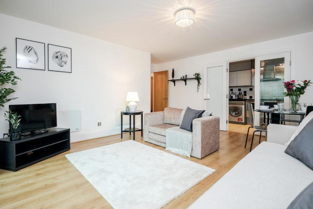 WelcomeStay Vauxhall St Georges Wharf 2 Bedroom Apartment