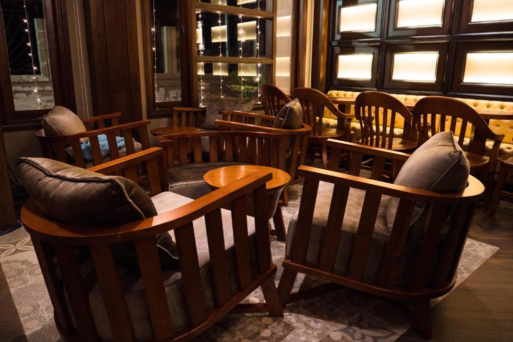 Loungen eller baren på Sea Shell Havelock