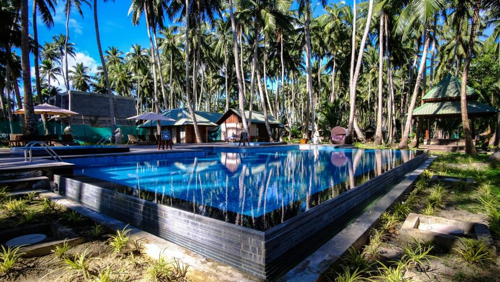 The swimming pool at or near Sea Shell Resort & Spa, Havelock