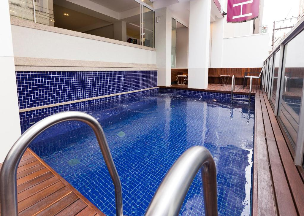 The swimming pool at or near Tropikalya Gold Hotel