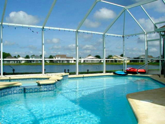 The swimming pool at or close to NEW Decade vacation homes