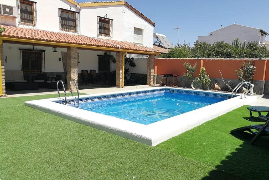 The swimming pool at or near Casa ¨El Roal¨,Peñuelas,Granada