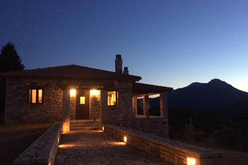 Panorama Balcony Mountain Chalet Manor House Goura Greece Booking Com