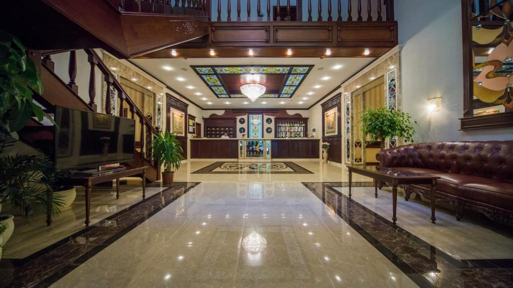 The lobby or reception area at Fenix