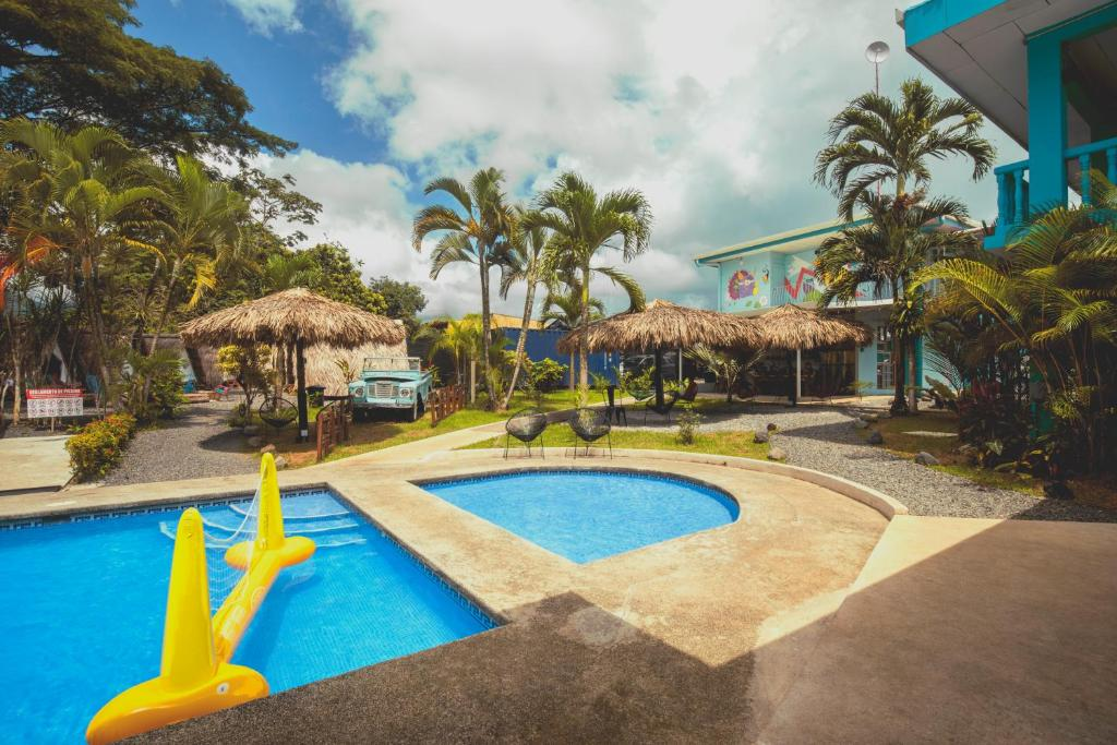 The swimming pool at or close to Selina La Fortuna