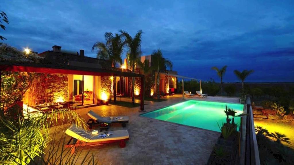 The swimming pool at or near Villa Malika Marrakech