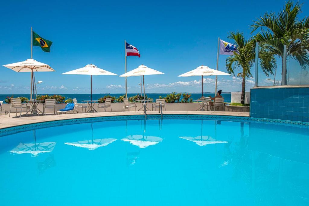 The swimming pool at or near Marazul Hotel