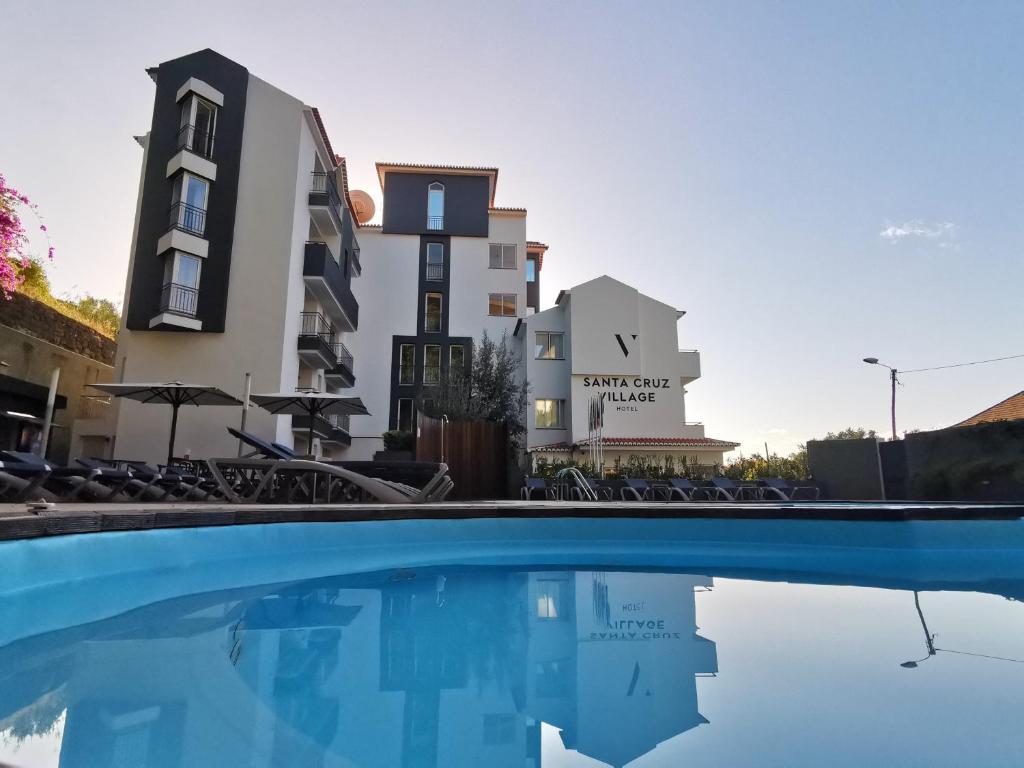 The swimming pool at or near Santa Cruz Village Hotel
