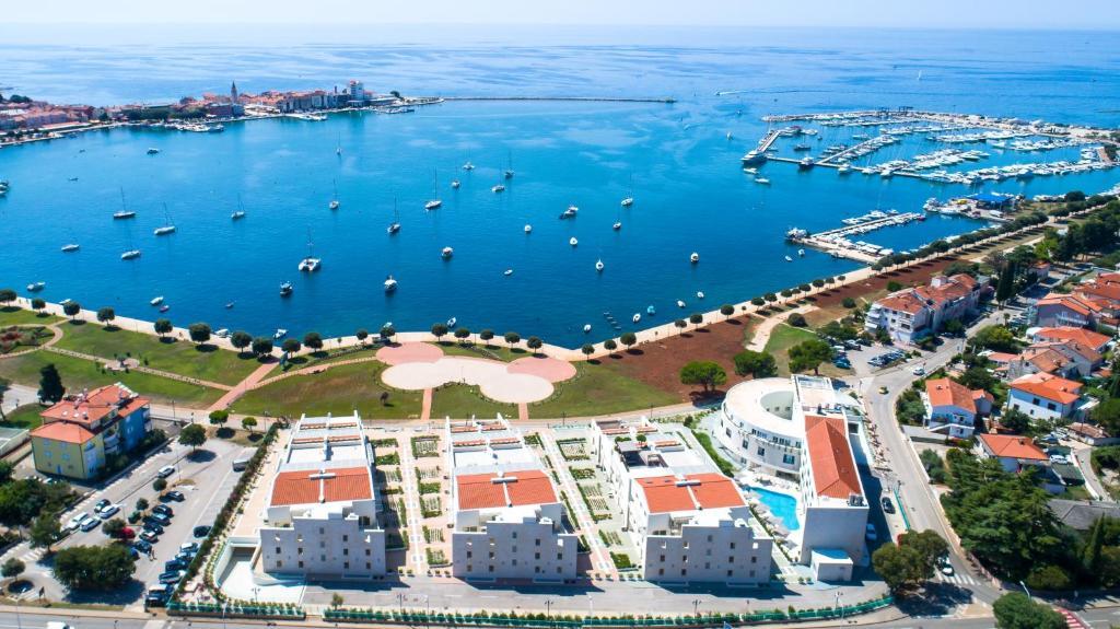 A bird's-eye view of Garden Palace Resort