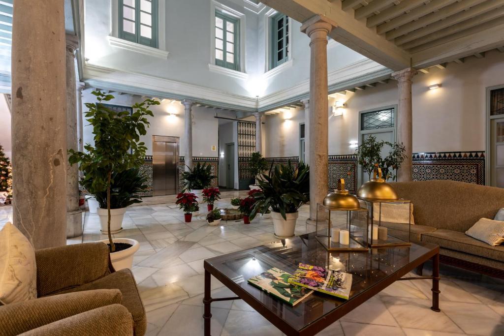 El vestíbulo o zona de recepción de Palacio Cabrera - Lillo