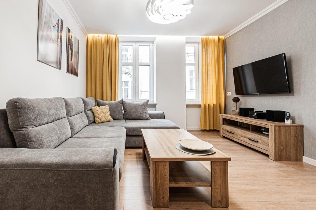 Część wypoczynkowa w obiekcie Apartamenty Chopina 4