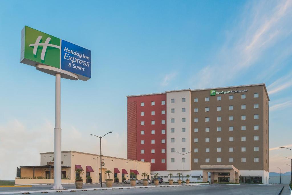 The Holiday Inn Express & Suites Silao Aeropuerto Terminal.