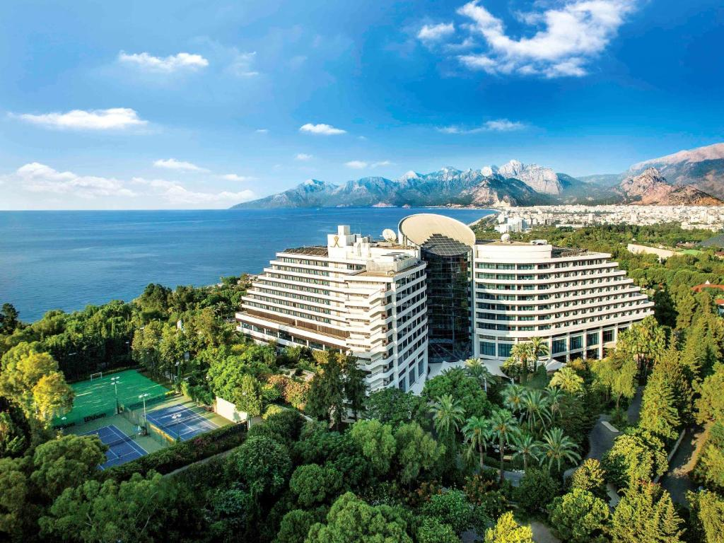 A bird's-eye view of Rixos Downtown Antalya
