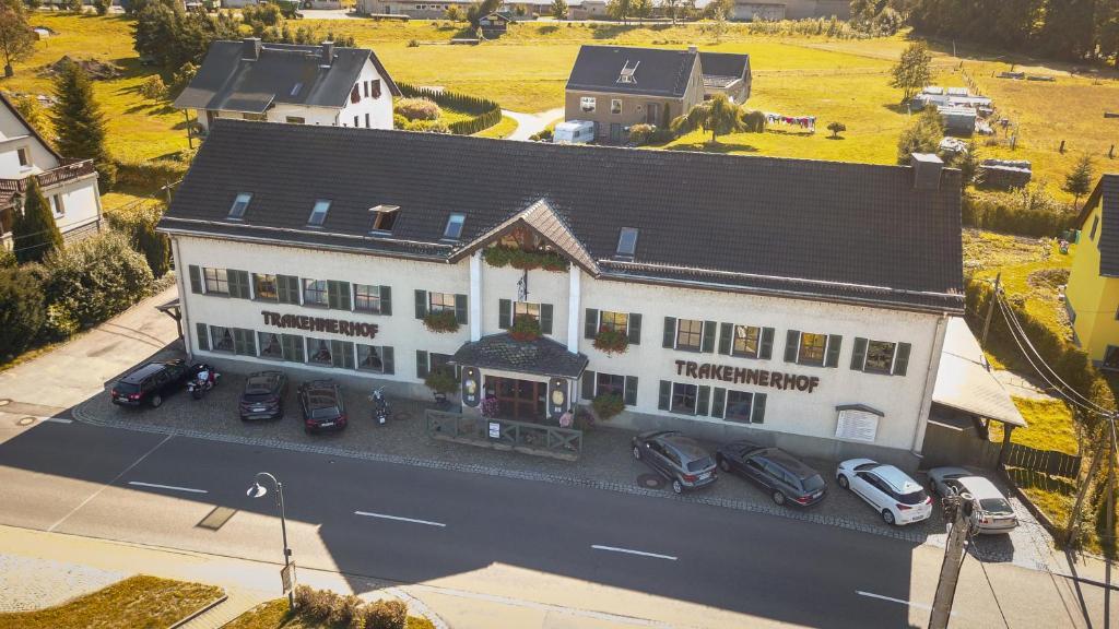 Blick auf Landhotel Trakehnerhof aus der Vogelperspektive