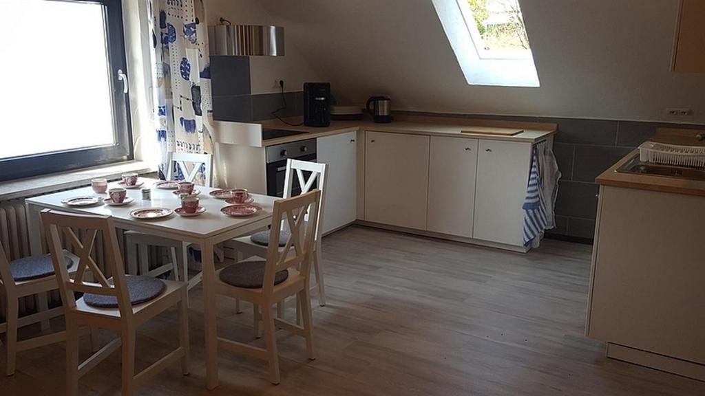 Küche/Küchenzeile in der Unterkunft Kaline 1