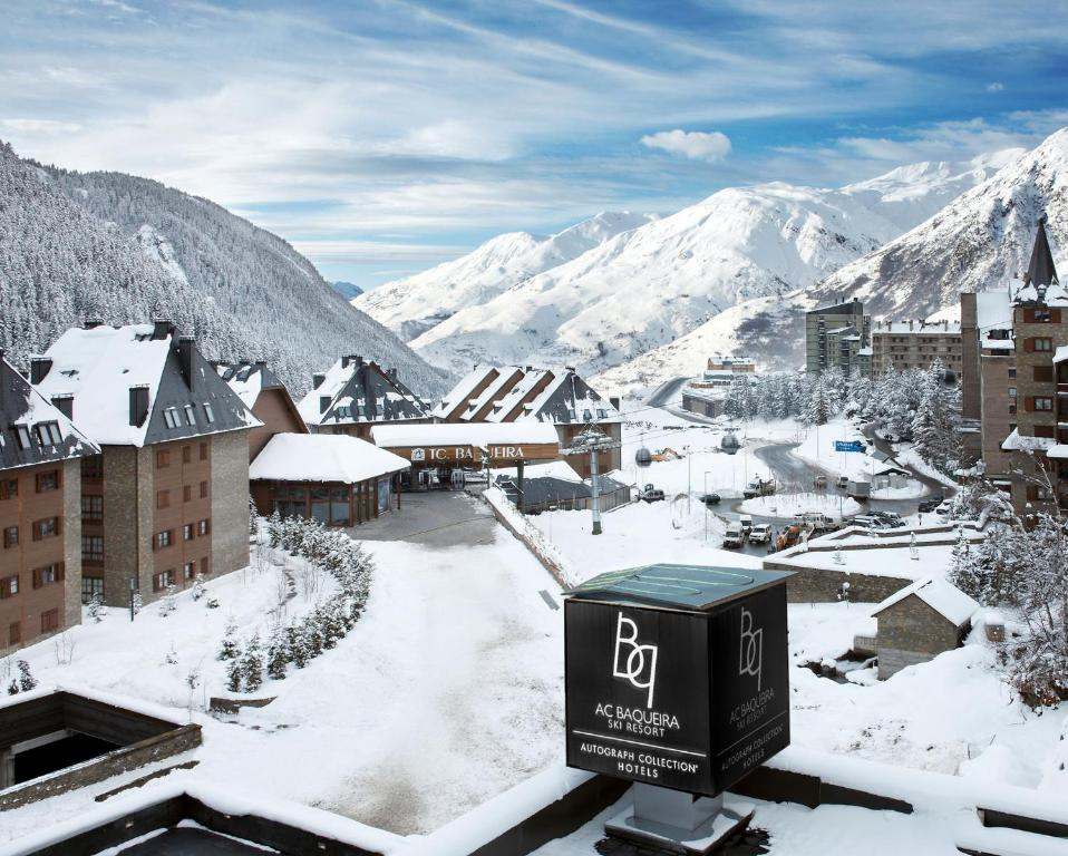 Hotel AC Baqueira Ski Resort, Autograph Collection during the winter