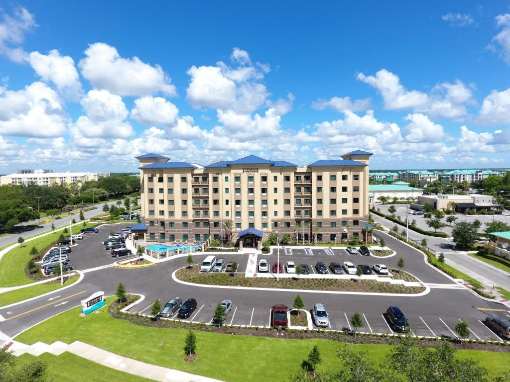 A bird's-eye view of Staybridge Suites Orlando at SeaWorld