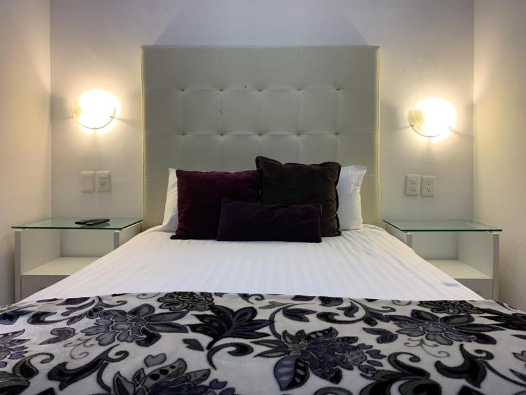 Cama o camas de una habitación en Condesa 185