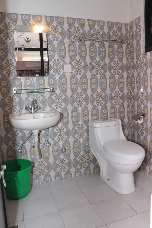 A bathroom at Hotel Venus