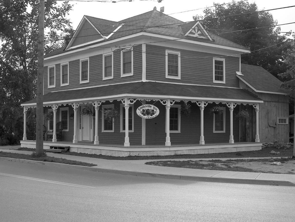 Emilyville Inn during the winter