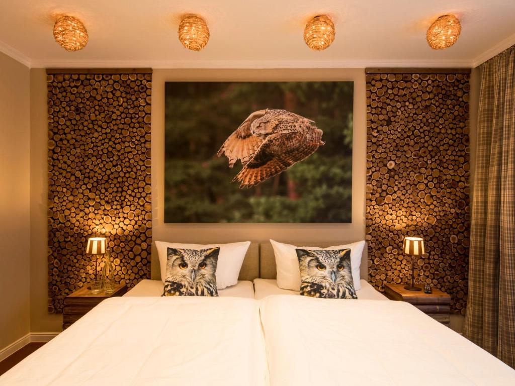 Tierpark Hotel Uhu-Lodge Weeze, Oktober 2020