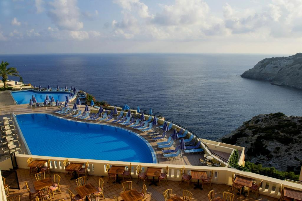 A view of the pool at CHC Athina Palace Resort & Spa or nearby