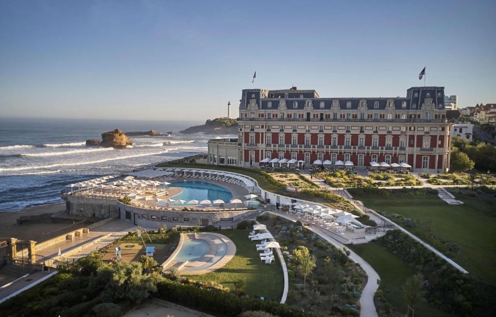 A bird's-eye view of Hotel du Palais Biarritz - in the Unbound Collection by Hyatt