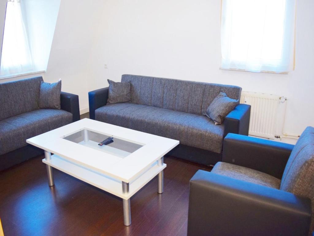 Ein Sitzbereich in der Unterkunft AB Apartment Objekt 63