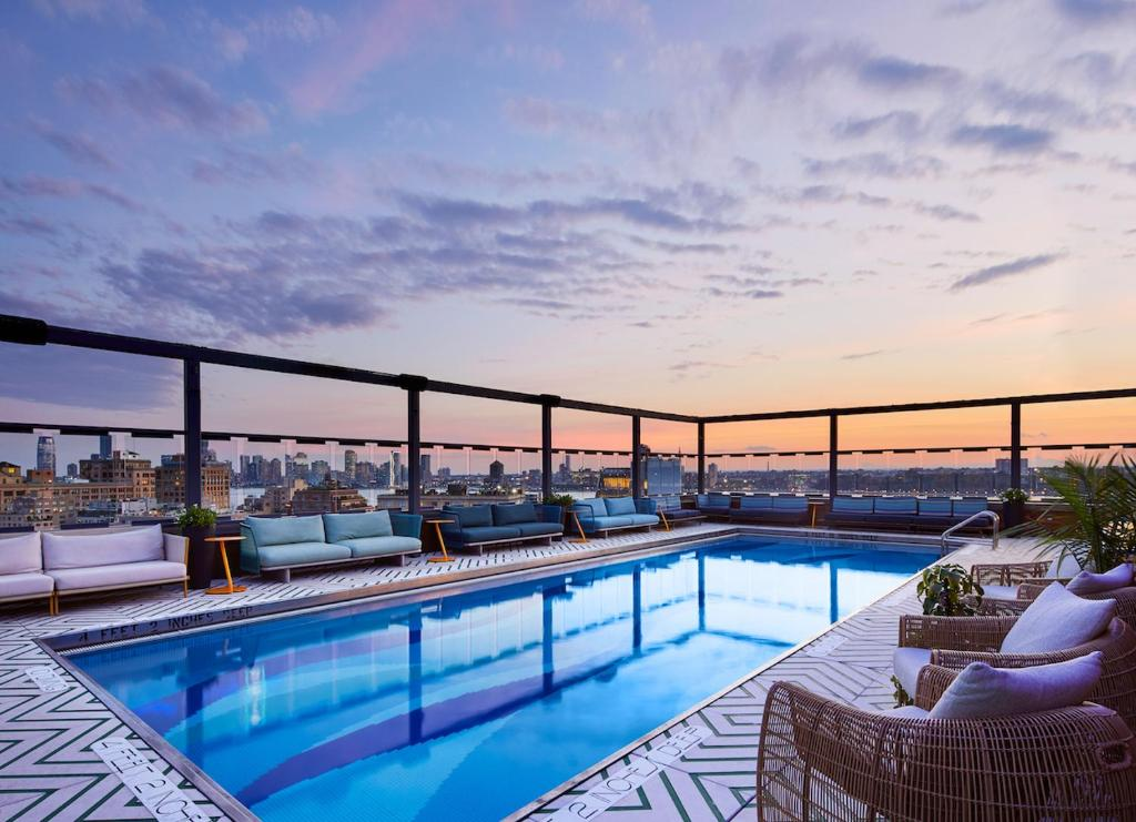 The swimming pool at or near Gansevoort Meatpacking