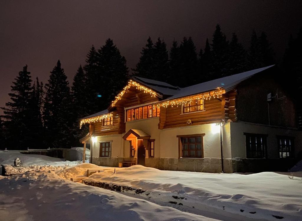 Дом отдыха Приозерный during the winter