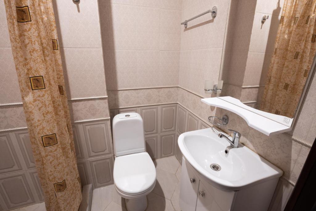 Ванная комната в Отель НИТРОН