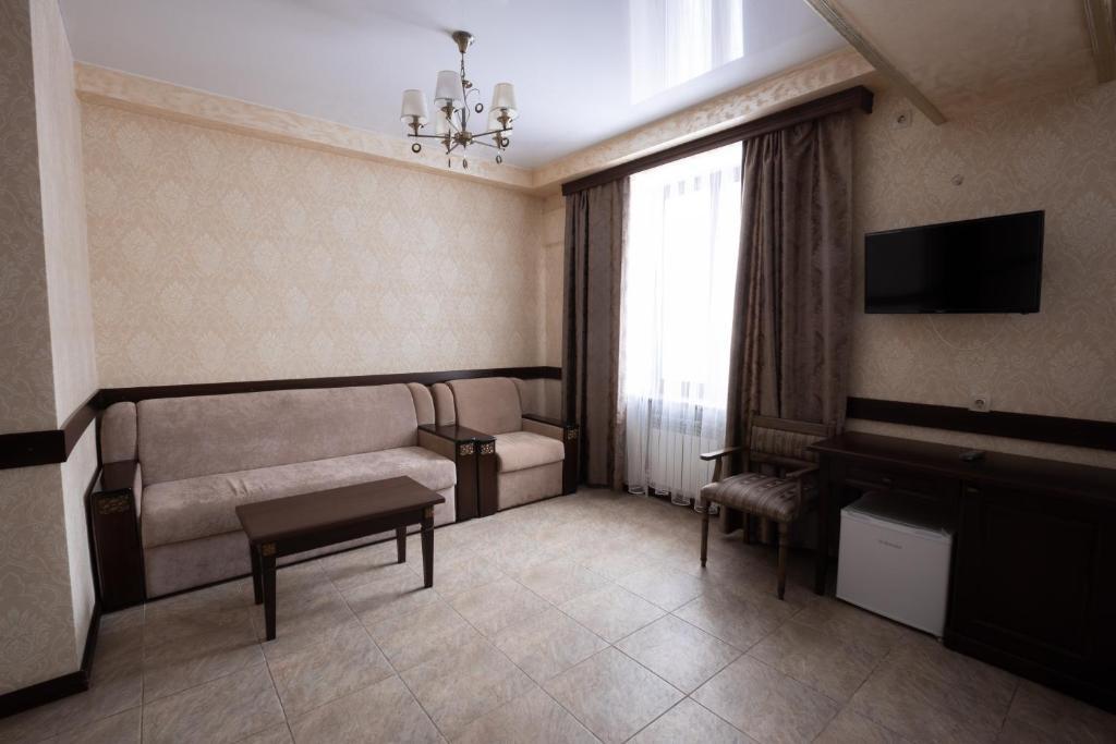 Гостиная зона в Отель НИТРОН