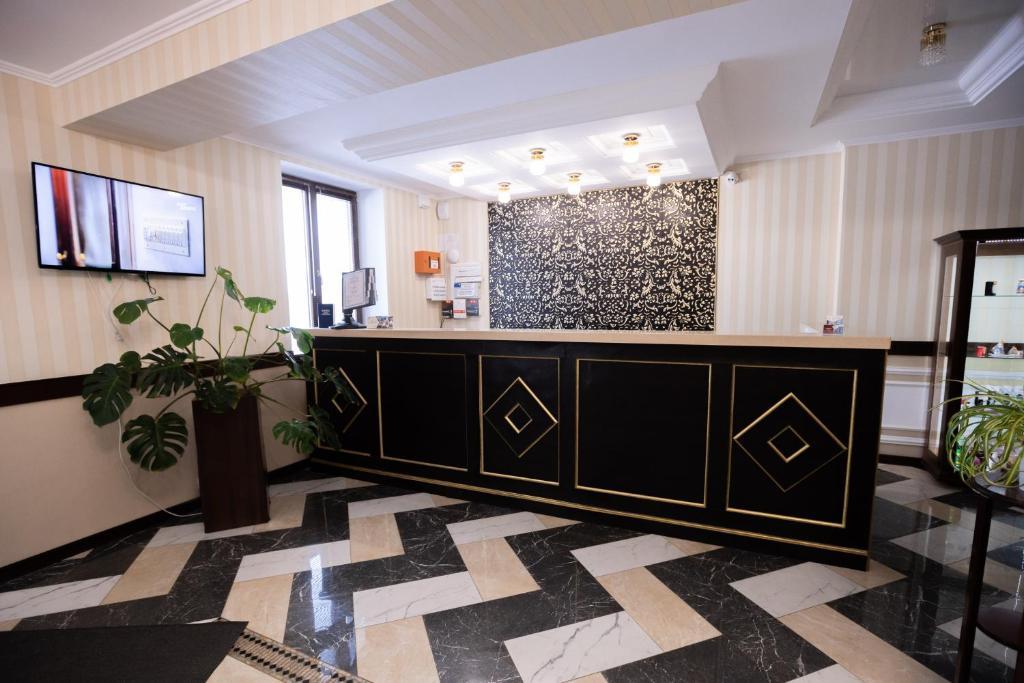 Лобби или стойка регистрации в Отель НИТРОН