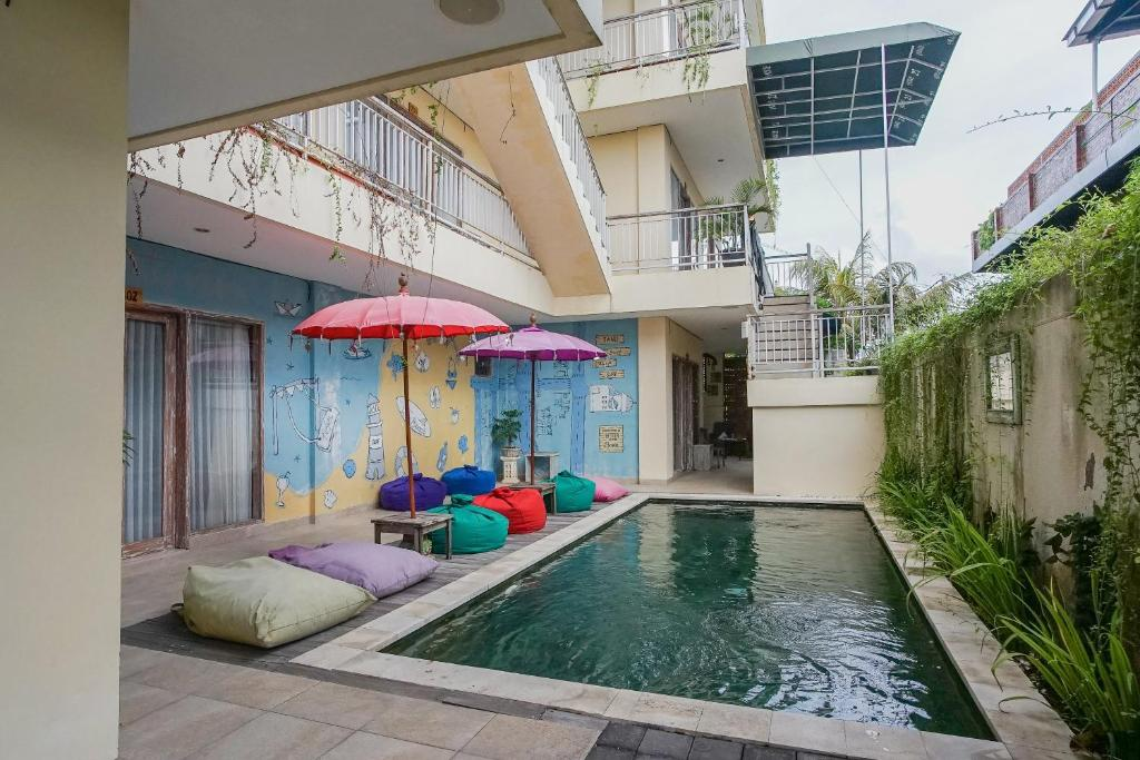 The swimming pool at or near Home 21 Bali