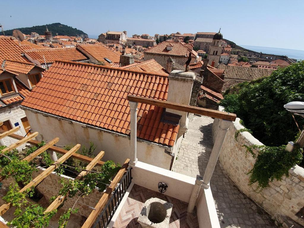 A bird's-eye view of Villa Monte Santo